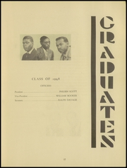 Page 21, 1948 Edition, Carver Vocational High School - Car Vo Hi Yearbook (Baltimore, MD) online yearbook collection