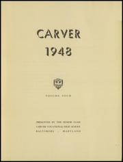 Page 5, 1948 Edition, Carver Vocational High School - Car Vo Hi Yearbook (Baltimore, MD) online yearbook collection