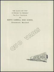 Page 5, 1957 Edition, North Carroll High School - Quo Vadis Yearbook (Hampstead, MD) online yearbook collection