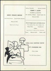 Page 133, 1956 Edition, Suitland High School - Aries Yearbook (Suitland, MD) online yearbook collection