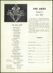 Page 6, 1956 Edition, Suitland High School - Aries Yearbook (Suitland, MD) online yearbook collection