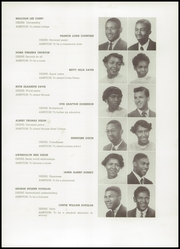 Page 13, 1952 Edition, Frederick Douglass High School - Survey Yearbook (Baltimore, MD) online yearbook collection