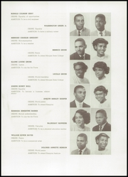 Page 15, 1952 Edition, Frederick Douglass High School - Survey Yearbook (Baltimore, MD) online yearbook collection