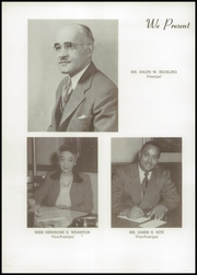 Page 6, 1952 Edition, Frederick Douglass High School - Survey Yearbook (Baltimore, MD) online yearbook collection