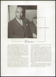Page 8, 1952 Edition, Frederick Douglass High School - Survey Yearbook (Baltimore, MD) online yearbook collection