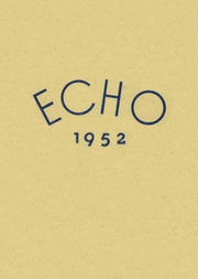 Page 1, 1952 Edition, Easton High School - Echo Yearbook (Easton, MD) online yearbook collection