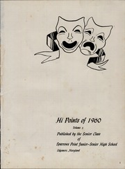 Page 5, 1960 Edition, Sparrows Point High School - Hi Points Yearbook (Edgemere, MD) online yearbook collection