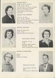 Page 17, 1953 Edition, Smithsburg High School - Leopard Yearbook (Smithsburg, MD) online yearbook collection