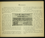 Page 7, 1953 Edition, Macomb (DMS 23) - Naval Cruise Book online yearbook collection