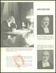Page 10, 1957 Edition, Calvert Hall College High School - Cardinal and Gold Yearbook (Baltimore, MD) online yearbook collection