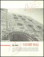 Page 9, 1957 Edition, Calvert Hall College High School - Cardinal and Gold Yearbook (Baltimore, MD) online yearbook collection