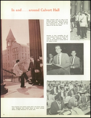 Page 10, 1959 Edition, Calvert Hall College High School - Cardinal and Gold Yearbook (Baltimore, MD) online yearbook collection