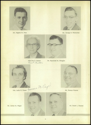 Page 10, 1955 Edition, Rising Sun High School - Ray Yearbook (North East, MD) online yearbook collection