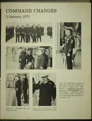 Page 9, 1973 Edition, Meyerkord (DE 1058) - Naval Cruise Book online yearbook collection
