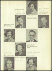 Page 15, 1952 Edition, Washington High School - Hatchet Yearbook (Princess Anne, MD) online yearbook collection