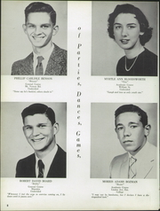 Page 12, 1958 Edition, Washington High School - Hatchet Yearbook (Princess Anne, MD) online yearbook collection
