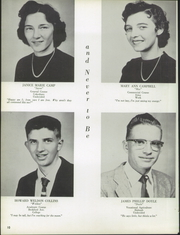 Page 14, 1958 Edition, Washington High School - Hatchet Yearbook (Princess Anne, MD) online yearbook collection