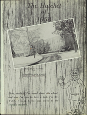 Page 5, 1958 Edition, Washington High School - Hatchet Yearbook (Princess Anne, MD) online yearbook collection