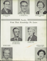 Page 7, 1958 Edition, Washington High School - Hatchet Yearbook (Princess Anne, MD) online yearbook collection