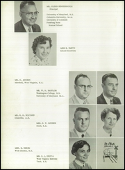 Page 12, 1956 Edition, Clear Spring High School - Trailblazer Yearbook (Clear Spring, MD) online yearbook collection