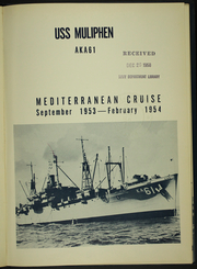 Page 5, 1954 Edition, Muliphen (AKA 61) - Naval Cruise Book online yearbook collection