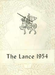 1954 Edition, Valley High School - Lance Yearbook (Lonaconing, MD)