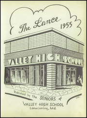 Page 5, 1955 Edition, Valley High School - Lance Yearbook (Lonaconing, MD) online yearbook collection
