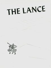 1958 Edition, Valley High School - Lance Yearbook (Lonaconing, MD)