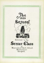 Page 7, 1929 Edition, Hagerstown High School - Heiskelite Yearbook (Hagerstown, MD) online yearbook collection