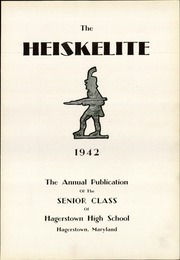 Page 7, 1942 Edition, Hagerstown High School - Heiskelite Yearbook (Hagerstown, MD) online yearbook collection