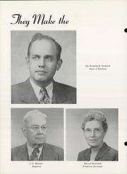 Page 10, 1950 Edition, Pittsburg State University - Kanza Yearbook (Pittsburg, KS) online yearbook collection