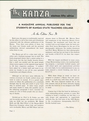 Page 6, 1950 Edition, Pittsburg State University - Kanza Yearbook (Pittsburg, KS) online yearbook collection