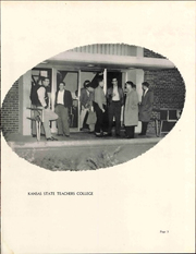 Page 7, 1955 Edition, Pittsburg State University - Kanza Yearbook (Pittsburg, KS) online yearbook collection