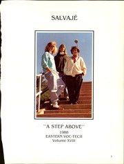 Page 5, 1988 Edition, Eastern Technical High School - Salvaje (Essex, MD) online yearbook collection
