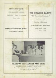 Page 76, 1957 Edition, Frederick Sasscer High School - Elm Yearbook (Upper Marlboro, MD) online yearbook collection