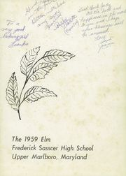 Page 5, 1959 Edition, Frederick Sasscer High School - Elm Yearbook (Upper Marlboro, MD) online yearbook collection