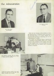 Page 8, 1959 Edition, Frederick Sasscer High School - Elm Yearbook (Upper Marlboro, MD) online yearbook collection