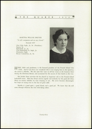 Page 27, 1932 Edition, Friends School of Baltimore - Quaker Yearbook (Baltimore, MD) online yearbook collection