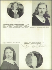 Page 15, 1949 Edition, Friends School of Baltimore - Quaker Yearbook (Baltimore, MD) online yearbook collection