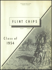 Page 5, 1954 Edition, Flintstone High School - Flint Chips Yearbook (Flintstone, MD) online yearbook collection