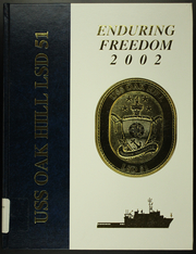 Page 1, 2002 Edition, Oak Hill (LSD 51) - Naval Cruise Book online yearbook collection