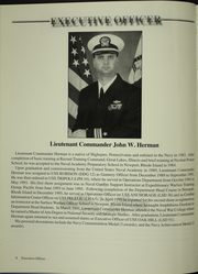 Page 12, 2002 Edition, Oak Hill (LSD 51) - Naval Cruise Book online yearbook collection