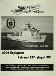 Page 5, 2002 Edition, Oak Hill (LSD 51) - Naval Cruise Book online yearbook collection