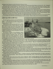 Page 9, 2002 Edition, Oak Hill (LSD 51) - Naval Cruise Book online yearbook collection
