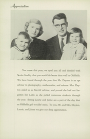 Page 10, 1957 Edition, Oldfields School - Rarebit Yearbook (Glencoe, MD) online yearbook collection