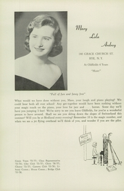 Page 16, 1957 Edition, Oldfields School - Rarebit Yearbook (Glencoe, MD) online yearbook collection