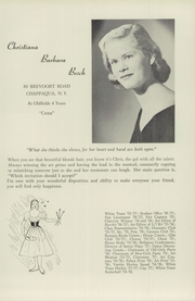 Page 17, 1957 Edition, Oldfields School - Rarebit Yearbook (Glencoe, MD) online yearbook collection