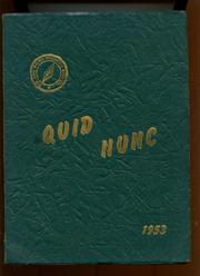 1953 Edition, Roland Park Country School - Quid Nunc Yearbook (Baltimore, MD)