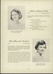 Page 16, 1959 Edition, Roland Park Country School - Quid Nunc Yearbook (Baltimore, MD) online yearbook collection