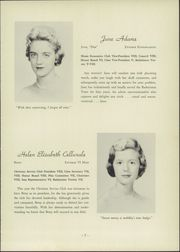 Page 9, 1959 Edition, Roland Park Country School - Quid Nunc Yearbook (Baltimore, MD) online yearbook collection